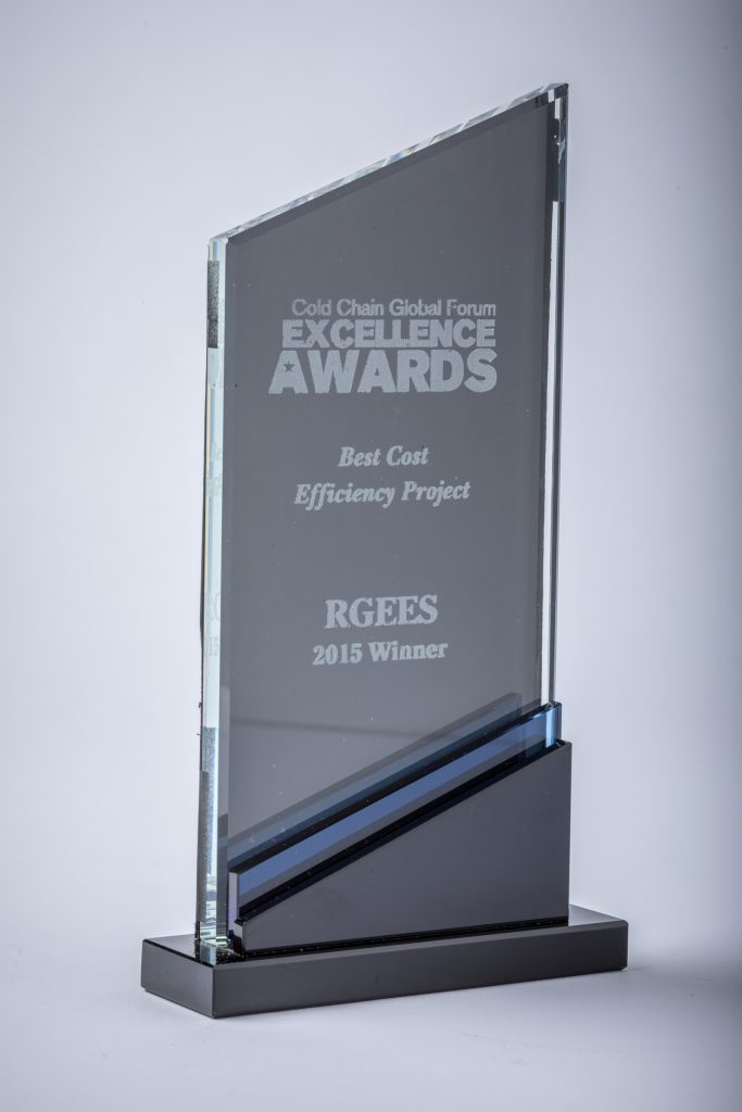Cold Chain Shipper Excellence Award